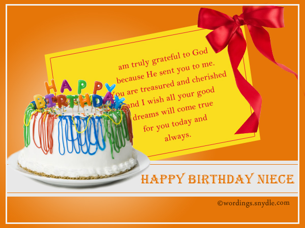 Happy birthday wishes for niece niece birthday messages wordings sweet birthday wishes for niece m4hsunfo