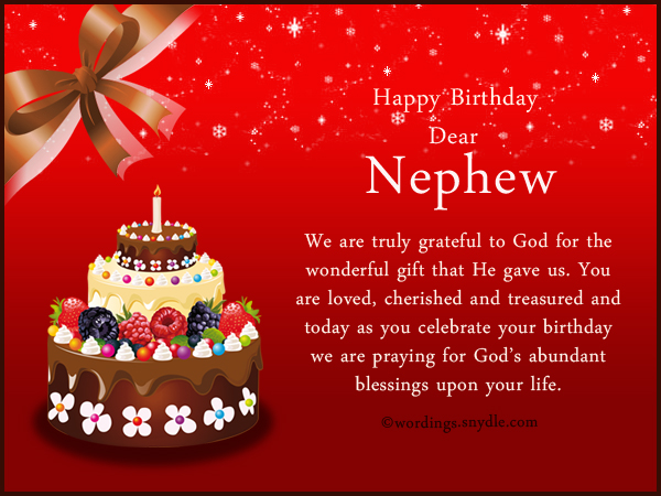 nephew birthday wishes and messages