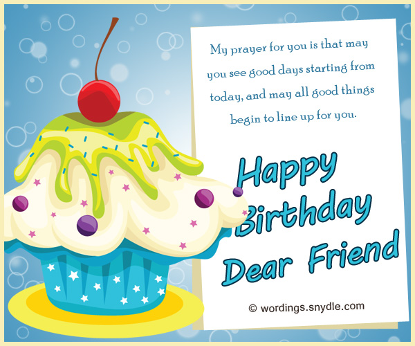 Happy Birthday Messages for Bestfriend Wordings and Messages – Special Birthday Greeting