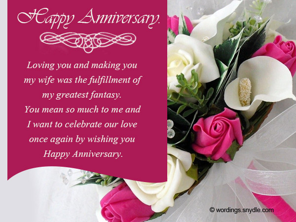 Wedding anniversary messages wishes and wordings wordings and wedding anniversary messages for couples 02 m4hsunfo