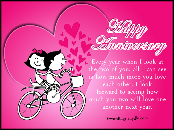 Wedding anniversary messages wishes and wordings wordings and anniversary wishes for the best couple m4hsunfo