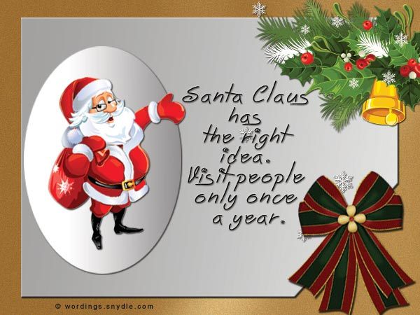 Funny Christmas Messages Wishes