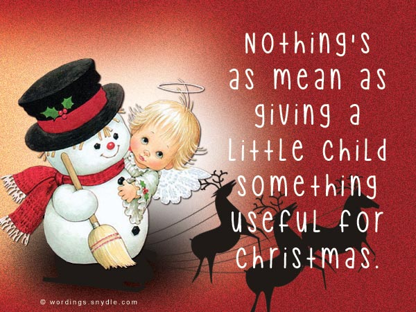 More Funny Christmas Messages for Cards