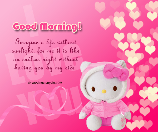 Good Morning Text Messages For Girlfriend Wordings And Messages