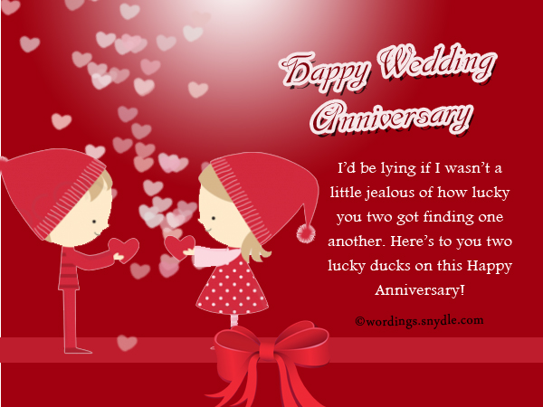 Wedding Anniversary Messages Wishes And Wordings