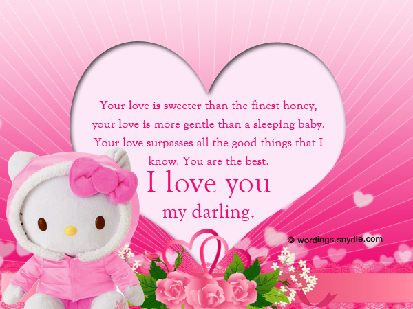 Romantic i love you messages for him and her wordings and messages i love you messages for him m4hsunfo
