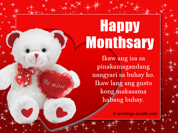 Happy Valentines Day Messages In Tagalog