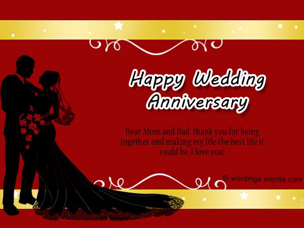 Wedding anniversary messages for parents wordings and messages wedding anniversary messages for parents altavistaventures Images