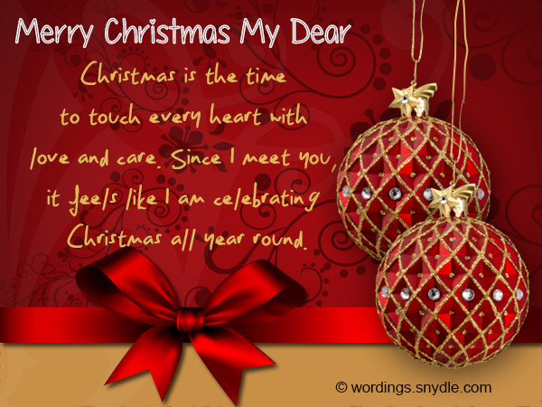Christmas Messages for Boyfriend - Wordings and Messages