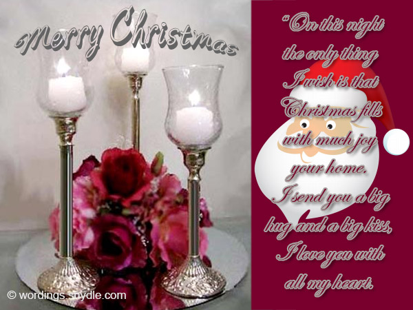 christmas love wishes