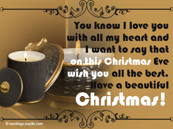 Christmas Greetings Wishes for Boyfriend