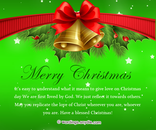 Best christmas messages wishes greetings and quotes wordings and inspirational christmas messages m4hsunfo
