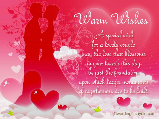 Wedding wishes messages and wedding day wishes wordings for Best day for a wedding