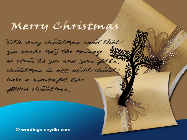 Christian Christmas Greetings and Wishes