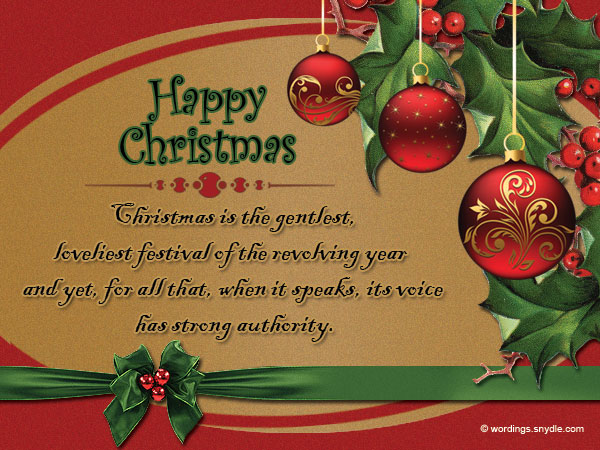 Christmas Messages Quotes. U201c