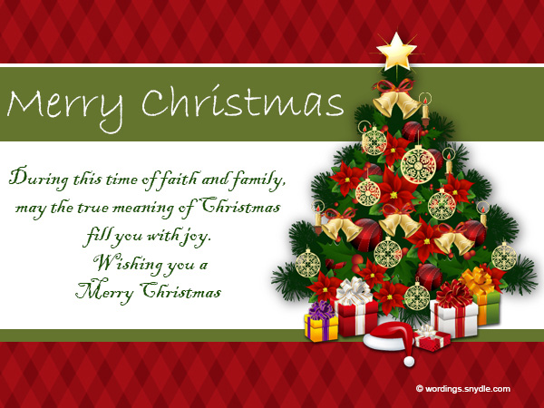 Christmas Messages Wishes