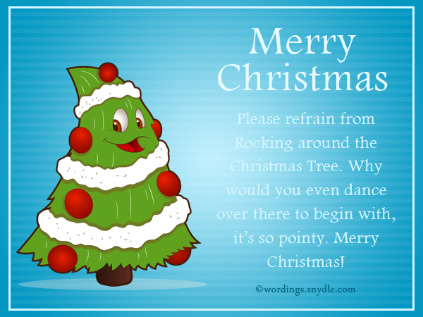 Funny Christmas Messages for Family