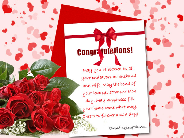 Wedding wishes messages and wedding day wishes wordings and messages happy wedding wishes m4hsunfo