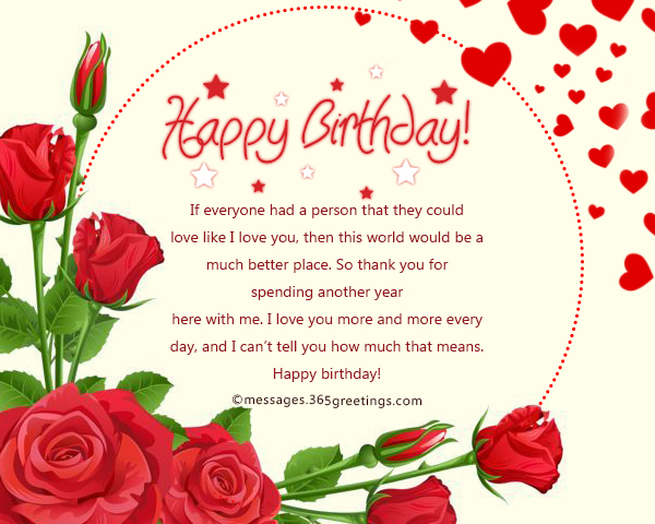 Romantic Love Birthday Wishes For Girlfriend