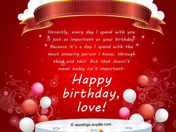 Romantic birthday wishes and messages wordings and messages romantic birthday wishes for wife m4hsunfo
