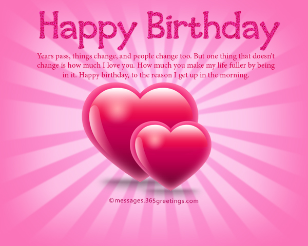 Romantic birthday wishes and messages wordings and messages romantic birthday messages m4hsunfo