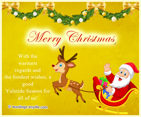 Best christmas messages wishes greetings and quotes wordings and short christmas messages m4hsunfo
