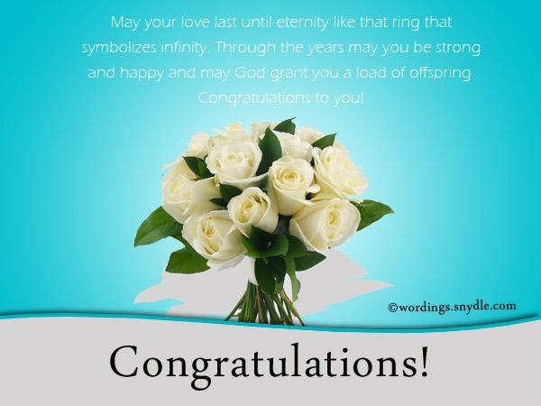 Wedding Wishes Congratulations