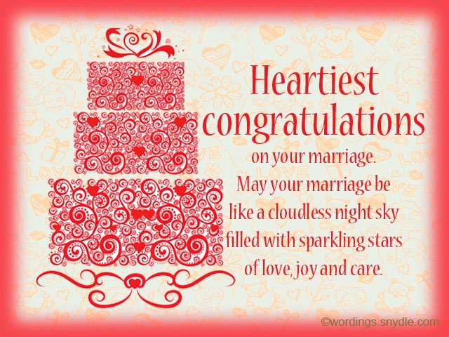 Wedding Gift Message For Honeymoon : Wedding Wishes Messages and Wedding Day Wishes - Wordings and Messages