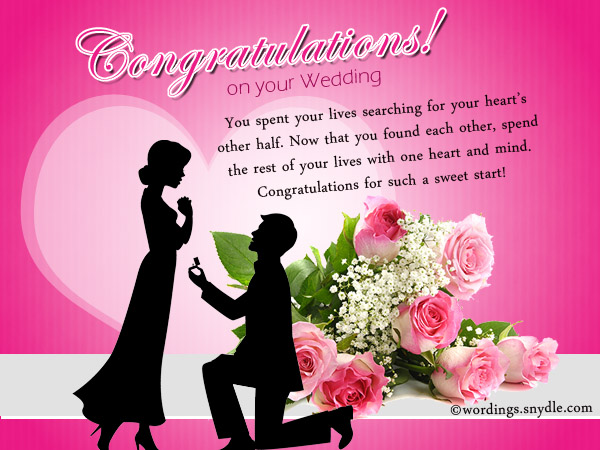 Wedding wishes messages and wedding day wishes wordings and messages wedding wishes messages m4hsunfo