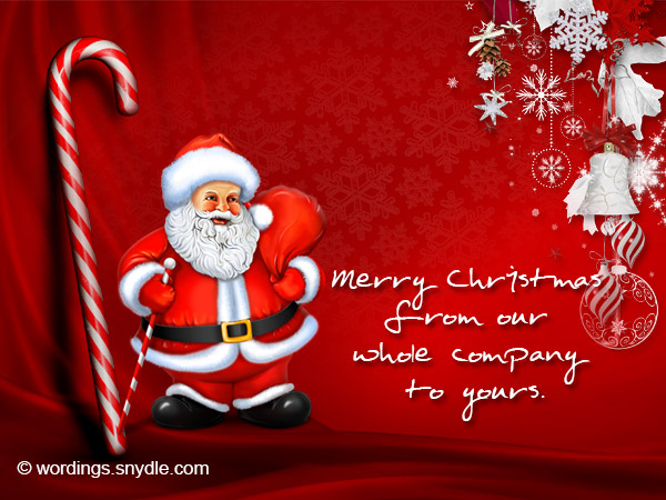 Christmas messages for business wordings and messages christmas card for business m4hsunfo