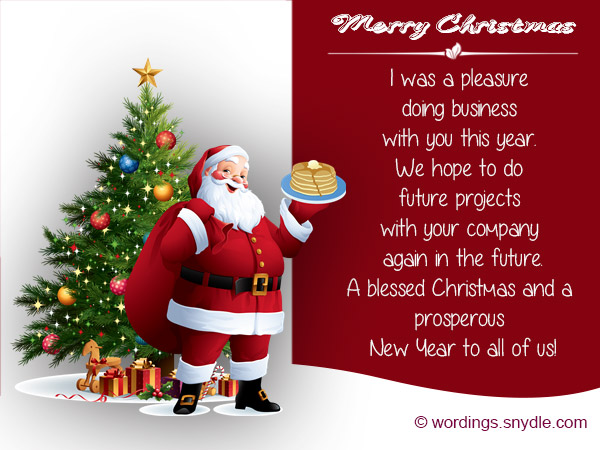Christmas messages for client wordings and messages christmas messages for client m4hsunfo