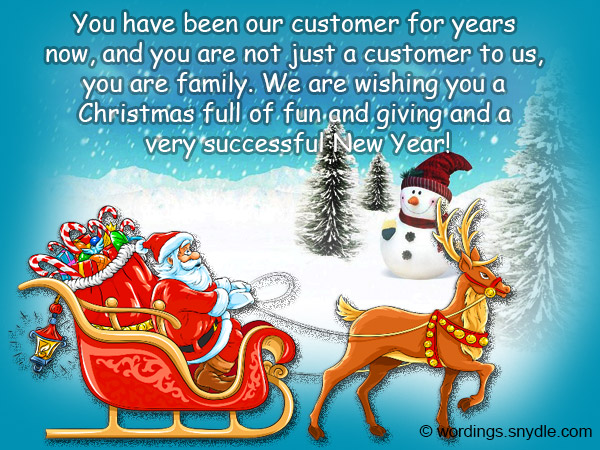 Christmas greetings For Client