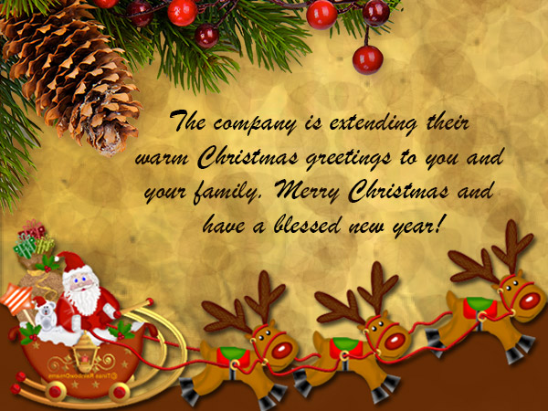 Christmas messages for employees wordings and messages merry christmas for employees m4hsunfo