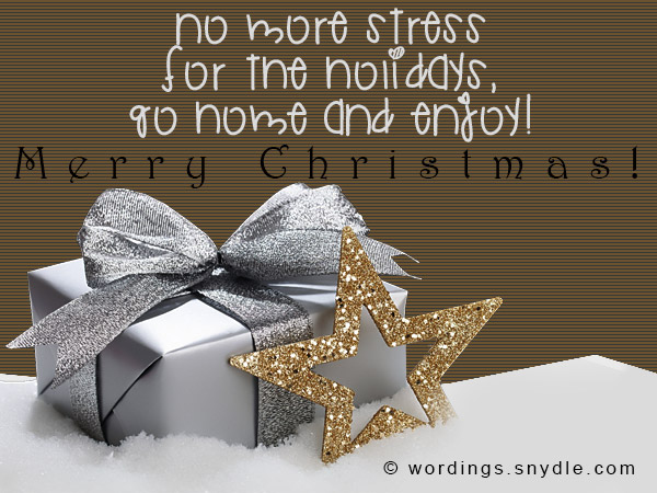Christmas messages for employees wordings and messages greeting cards for employees m4hsunfo