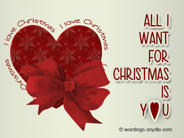Christmas Wishes for Girlfriend