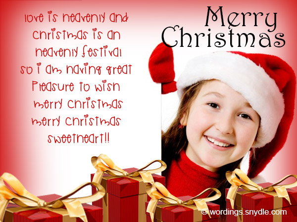 Christmas messages for girlfriend wordings and messages christmas greetings for girlfriend m4hsunfo