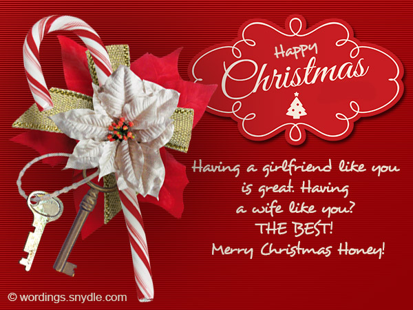 Christmas messages for wife wordings and messages christmas cards for honey m4hsunfo