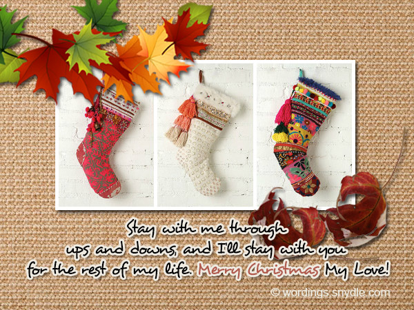 Christmas messages for wife wordings and messages christmas greetings for wife m4hsunfo