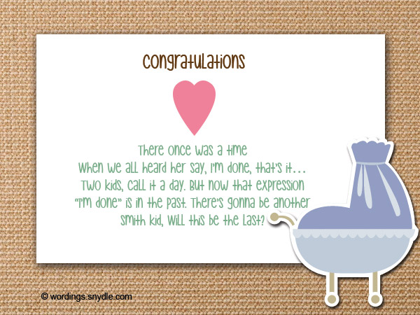 baby shower messages quotes