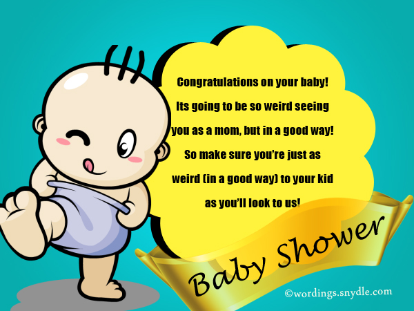 Funny Baby Shower Congratulations Messages  Image Bathroom