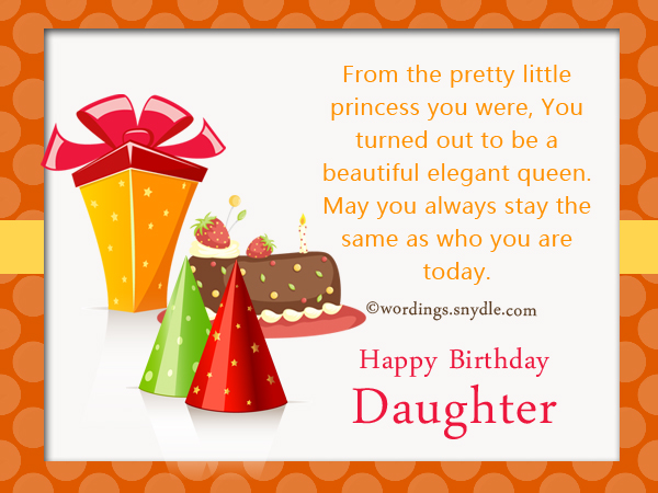 Birthday wishes for daughter wordings and messages birthday wishes for daughter m4hsunfo
