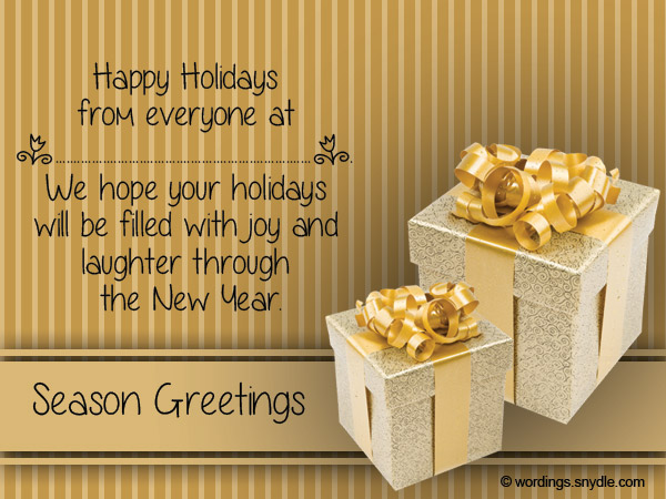 Christmas messages for business wordings and messages christmas greeting messages for business m4hsunfo Choice Image