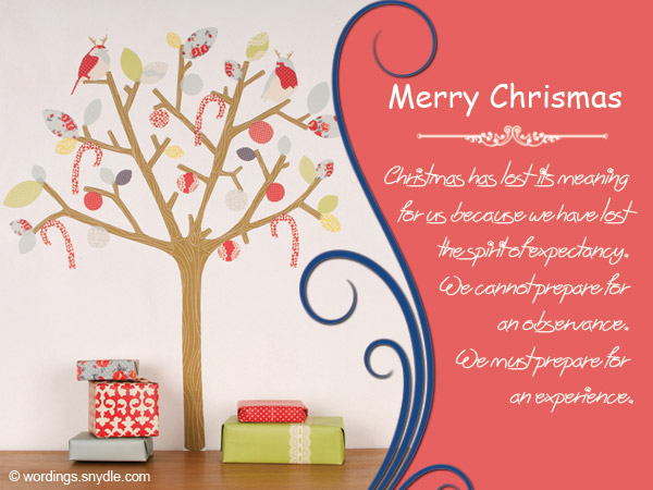 Christmas Messages for Teachers - Wordings and Messages
