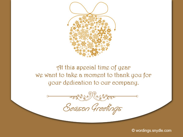season greetings words