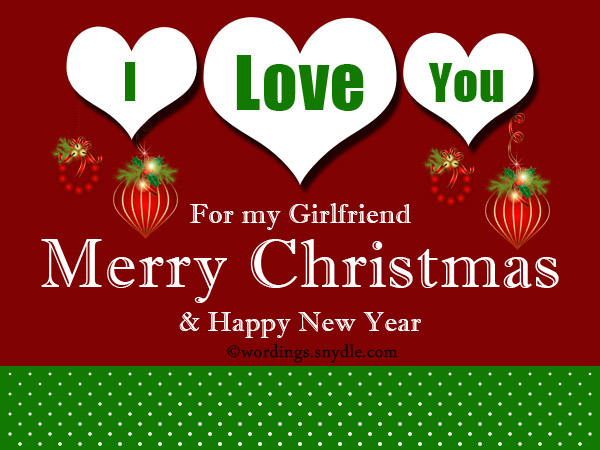 Romantic Christmas Wishes for Girlfriend