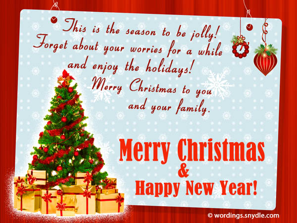 Inspirational christmas messages quotes and greetings wordings inspirational christmas messages m4hsunfo