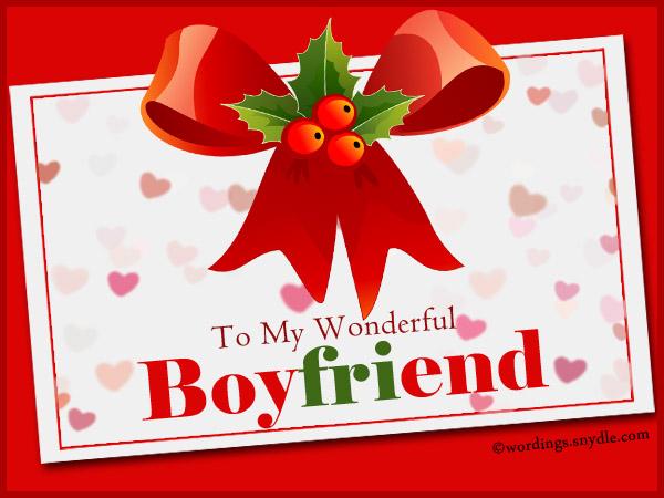 Christmas message for boyfriend long distance
