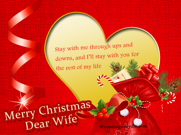 Christmas messages for wife wordings and messages christmas wishes for wife m4hsunfo