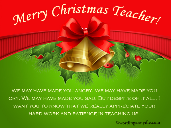 greetings to teachers