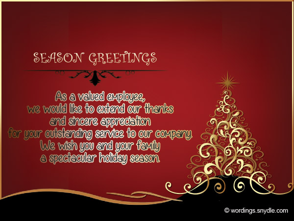 Christmas messages for employees wordings and messages christmas wishes quotes for employees m4hsunfo
